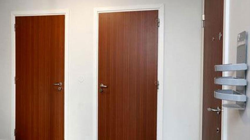 Dörrlaminat i mahogny från Isodoor Cover
